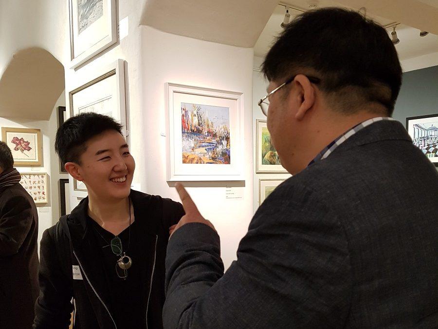 Mall Galleries, April 2019, a few pics…